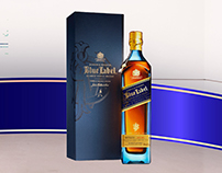 Campaña Publicitaria: Blue Label de Johnnie Walker