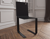 "Chair ""folded"""