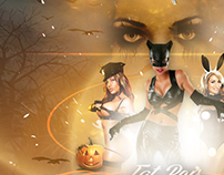 Fat Boi's Halloween Bash | 10.31.14 [Flyer]