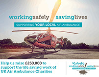 Kubota Air Ambulance Campaign