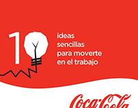 Infografía •Día de la actividad física• - CocaCola