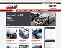 Página Web de AutoHasco