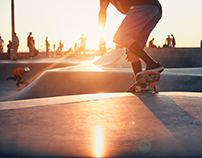 L.A Skaters by Chris Sisarich......