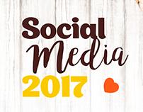 Social Media 2017 Panadería María Bonita