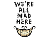 Alice in Wonderland - Posters, Signs, & Notes