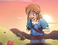 Link - Zelda: BOTW
