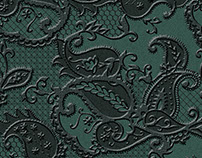 Evening Paisley lace