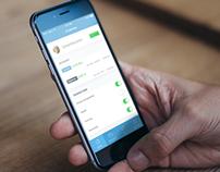 Fintech Banking App - iOS8