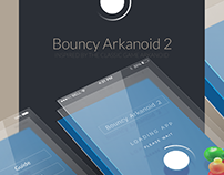 Bouncy Arkanoid 2 [App/game UI]