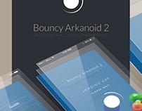 Bouncy Arkanoid 2 [App/game UI]