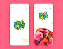 KoolKidz App UI