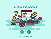 FREE - BUSINESS ICONS