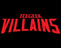 TeeGeek : Villains