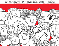 ATTENTATO A PARIGI \ 13 NOVEMBER \ 2015