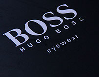 Hugo Boss eyewear brochure, 2014