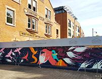 Brixton village (summer wall)