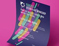 Render: Design and Art Workshop