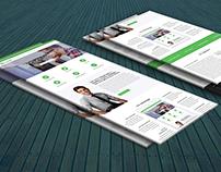 Virtual Team Landing page Redesign