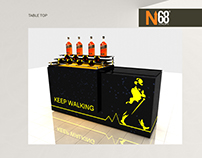 Johnny Walker Product Display Modules