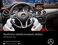 Mercedes Benz Financial Services corporate designs