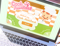 Cook Assistant - Full HTML5 & CSS3 Game / App