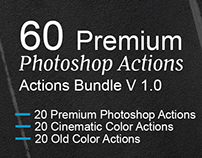 60 Premium Photoshop Actions-Bundle v1