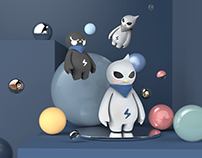 NINO/尼诺—嫩鸟计划品牌IP形象设计