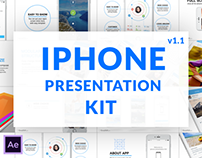 iPhone Presentation Kit | After Effects template