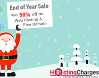 Year End & New Year 2017 Offers from Web Hosting Sites