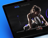 LANDING FOR THE GYM —FREE PSD