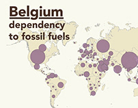 Belgium: dependency to fossil fuels