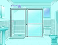 Economize água no banho
