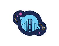 Space Exhibition // San Francisco Logo