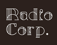 Radio Corp – Art Deco Display Typeface
