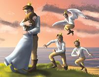 H. C Andersen's fairy tales children's book