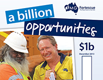 Fortescue 'A Billion Opportunities' Campaign