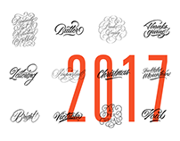 Calligraphy and Lettering 2017