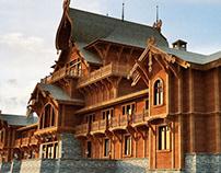 RUSSIAN ETHNO-TOURISM COMPLEX PUSHKINSKIYE GORY