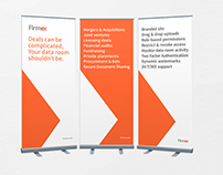 Tradeshow Roll Up Banners - Firmex