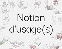 Notion d'usages
