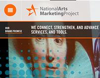 National Arts Marketing Project Website
