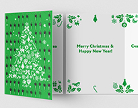 New Year card, Cetelem