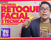 Video tutorial de Retoque Facial en Photoshop