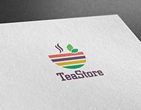 """Логотип и ФС """"TeaStore"""""""