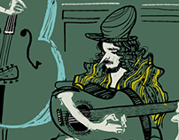 Musicians in Lyon (GIF)