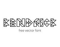 kendrick free vector font