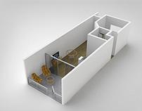 Tabatinga Resort Conceptual 3D Design - Natal - RN
