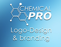 Chemical Pro logo-design & branding, product label