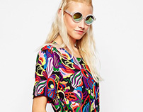 Orchids Print | ASOS and Urban Outfitters