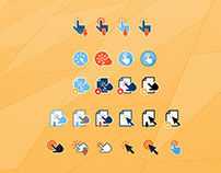 'Click' to Download Icons – F R E E B I E